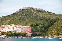 Porto Ercole Italië Royalty-vrije Stock Foto