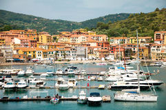 Porto Ercole Italië Royalty-vrije Stock Afbeeldingen
