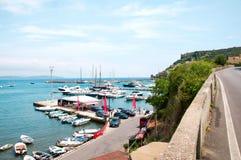 Porto Ercole Italië Royalty-vrije Stock Foto's