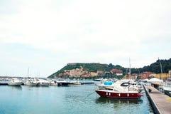 Porto Ercole Italië Stock Afbeeldingen