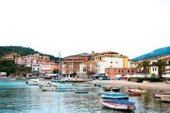 Porto Ercole Italien lizenzfreies stockbild