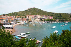 Porto Ercole Italien Stockfotos