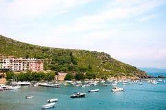 Porto Ercole Italy imagem de stock