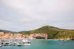 Porto Ercole l'Italie Image libre de droits
