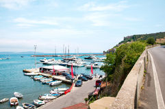 Porto Ercole l'Italie Photos libres de droits