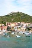 Porto Ercole l'Italie Images libres de droits