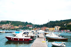 Porto Ercole l'Italie Photo libre de droits
