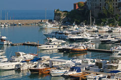 Porto Ercole in Tuscany in Italy Royalty Free Stock Photo