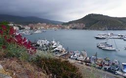 Porto Ercole, Włochy obraz royalty free