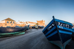 Porto in Essaouira Fotografie Stock Libere da Diritti