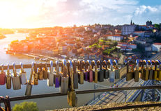 Porto est pour des amants Image stock