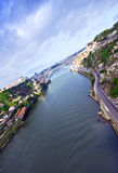 Porto et fleuve de Douro, Portugal Image libre de droits