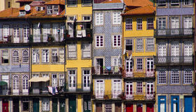 Porto facades Portugal Royalty Free Stock Images