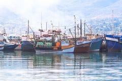 Porto falso da baía foto de stock royalty free