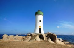 Porto Faro, Palau, Sardinia royalty free stock photography