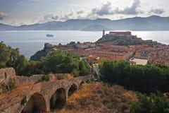 Porto ferraio fort, Elba, Tuscany Stock Photos