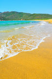 Porto Ferro beach on a clear day. Sardinia Stock Image