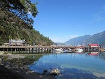 Porto a ferro di cavallo della baia, Columbia Britannica Fotografia Stock