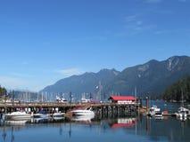 Porto a ferro di cavallo della baia, Columbia Britannica Immagini Stock Libere da Diritti