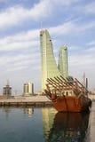 Porto financeiro de Barém Imagens de Stock