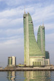 Porto finanziario della Bahrain Fotografia Stock