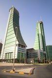 Porto finanziario della Bahrain, Manama, Bahrain Immagini Stock Libere da Diritti