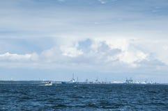 Porto Finlandia di Kotka Fotografia Stock Libera da Diritti
