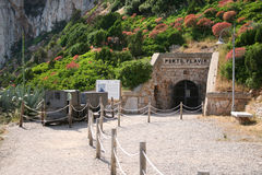 Porto Flavia. Masua (Sardinia - Italy) Stock Photos