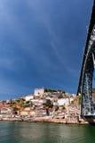 Porto in Fluss Duero Stockfotografie