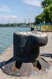 Porto fluvial Imagens de Stock