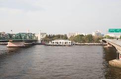 Porto fluviale Immagine Stock Libera da Diritti