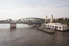 Porto fluviale Immagini Stock Libere da Diritti