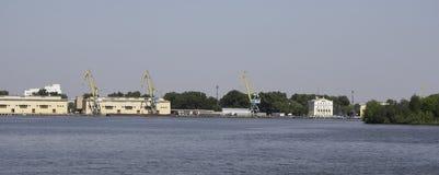 Porto fluviale del sud fotografia stock
