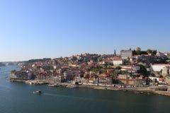 Porto från bron Arkivbilder
