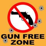 Porto franco della pistola Fotografie Stock Libere da Diritti