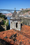 Porto and Gaia Picturesque Urban Scenery in Portugal Royalty Free Stock Images