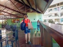 Porto Galinhas, Recife, Brazil, February, 7, 2019. Ancorar Resort royalty free stock image