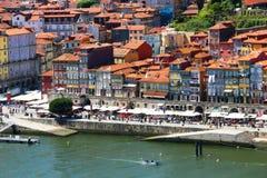 Porto gammal stad Arkivbild