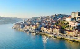 Porto gammal town, Portugal Arkivfoto