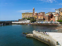 Porto a Genova Immagini Stock