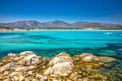Porto Giunco beach, Villasimius, Sardinia, Italy. Stock Images