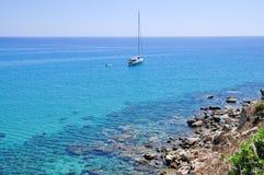 Porto Giunco, Villasimius, Sardinia, Italy Royalty Free Stock Photography