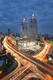 Porto globale, Shanghai Fotografie Stock Libere da Diritti