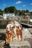 Porto Gloucestershire di Lydney Fotografie Stock