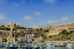 Porto in Gozo Immagine Stock