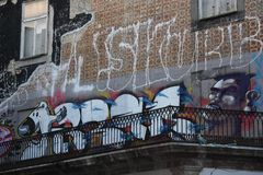 Porto Graffiti stock images