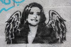 Porto Graffiti royalty free stock photos