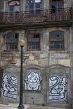 Porto Graffiti royalty free stock images