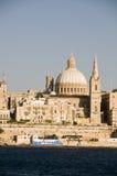 Porto grande de Valletta malta Fotos de Stock