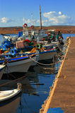 Porto greco Fotografia Stock